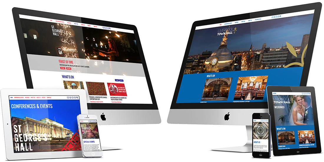 City halls websites